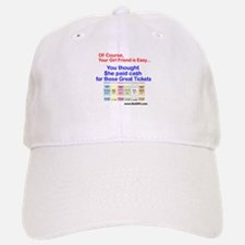 Of Course tickets Baseball Baseball Cap