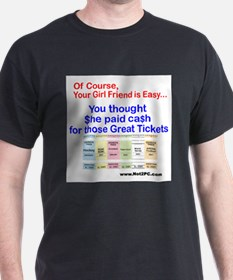 Of Course tickets T-Shirt