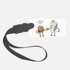 Cute Couple Showing Love Luggage Tag