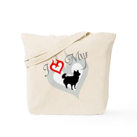 Chihuahua Longhair Tote Bag