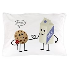 Cute Couple Showing Love Pillow Case
