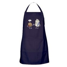 Cute Couple - Milk and Cookie Apron (dark)