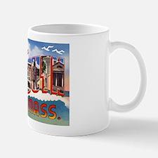 Plymouth Massachusetts Greetings Mug