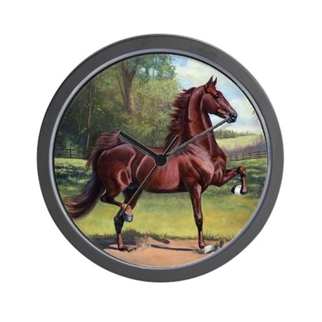 WC Merchant Prince by Jeanne Newton Sch Wall Clock