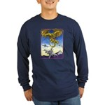 US Naval Aviation Long Sleeve Dark T-Shirt