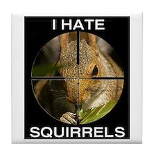 Squirrel/Scope Tile Coaster