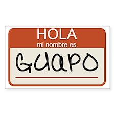 Guapo Decal