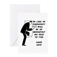 Emergency Assistance Greeting Card