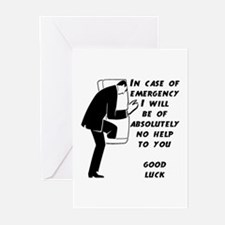 Emergency Assistance Greeting Cards (Pk of 10)