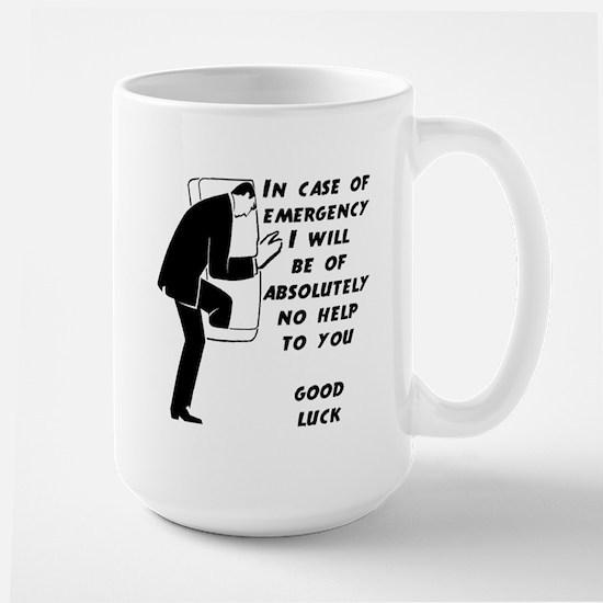 Emergency Assistance Large Mug