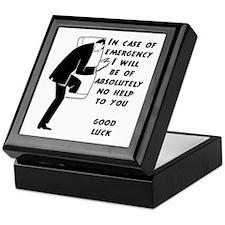 Emergency Assistance Keepsake Box