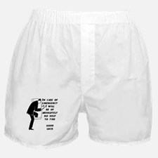 Emergency Assistance Boxer Shorts