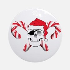 Pirate Claus Ornament (Round)