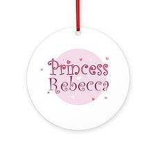 Rebecca Ornament (Round)