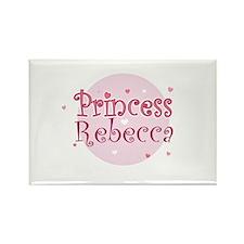 Rebecca Rectangle Magnet