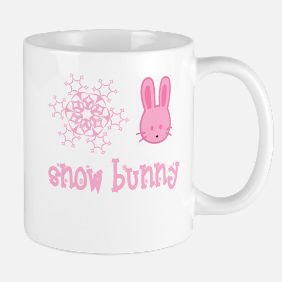 Pink Snow Bunny Mug