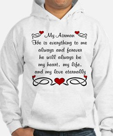 Air Force Poem of Love Hoodie