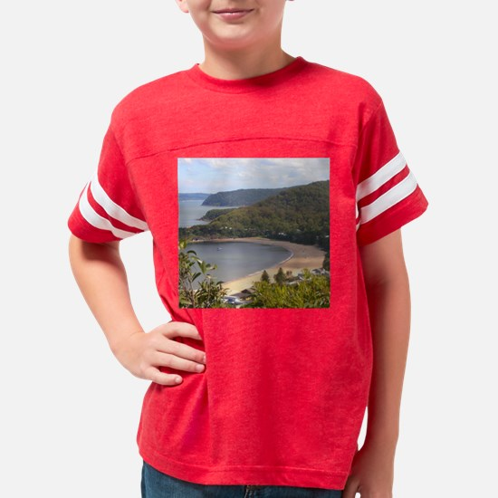 Pearl Beach9SQBIG Youth Football Shirt