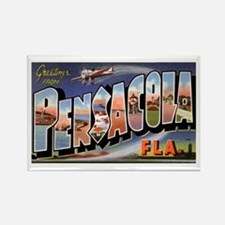 Pensacola Florida Greetings Rectangle Magnet