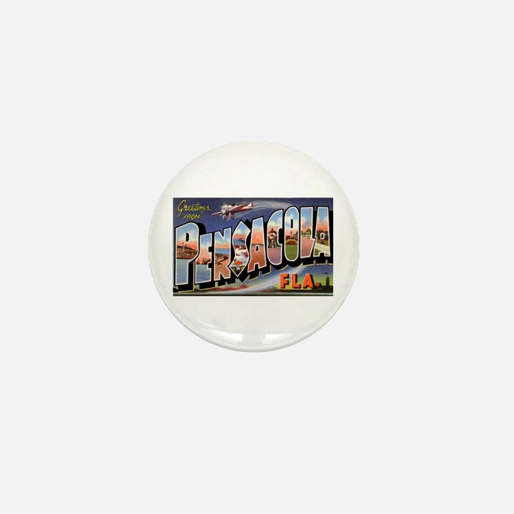 Pensacola Florida Greetings Mini Button