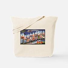 Pensacola Florida Greetings Tote Bag