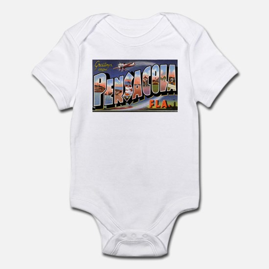 Pensacola Florida Greetings Infant Bodysuit