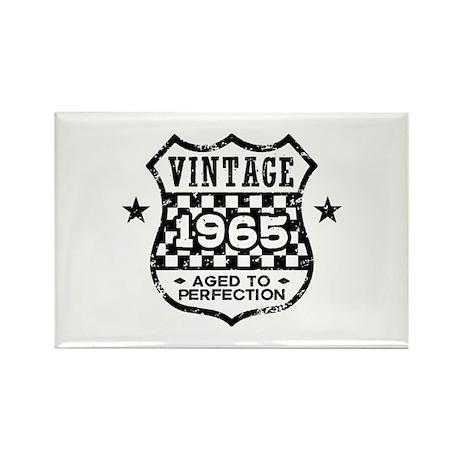 Vintage 1965 Rectangle Magnet