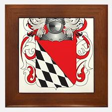 Bernardo Coat of Arms Framed Tile
