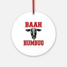 Baah Humbug Ornament (Round)
