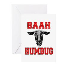 Baah Humbug Greeting Cards (Pk of 10)