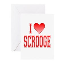 I love Scrooge Greeting Cards (Pk of 10)