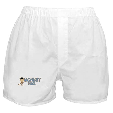 Monkey Girl Boxer Shorts