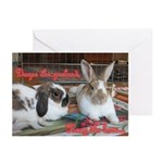 Ruby and Kylie Greeting Cards (Pk of 10)