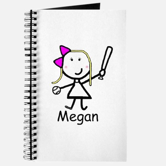 Softball - Megan Journal
