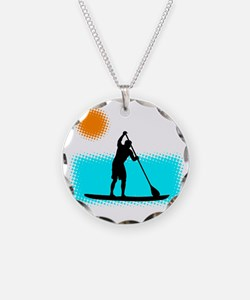 Paddle Boarder Necklace