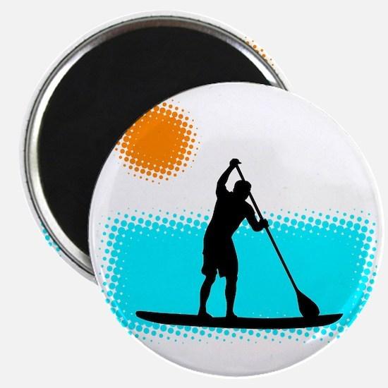 Paddle Boarder Magnet
