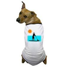 Paddle Boarder Dog T-Shirt