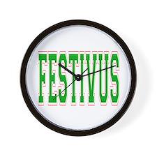 Festivus Wall Clock