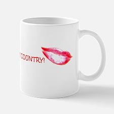 Kiss Me, I'm Country Mug Mugs