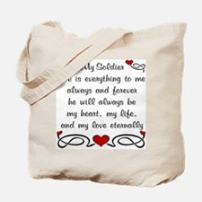 Coast Guard Poem of Love Tote Bag