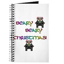 BEARY BEARY CHRISTMAS W/BEARS Journal