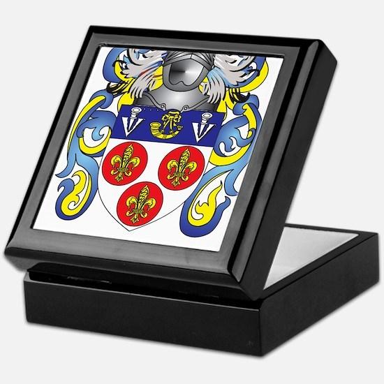 Berrow Coat of Arms Keepsake Box