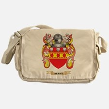 Berry Coat of Arms Messenger Bag