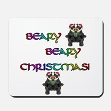 BEARY BEARY CHRISTMAS W/BEARS Mousepad