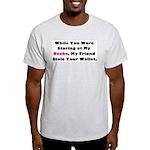 Wallet Ash Grey T-Shirt