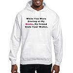 Wallet Hooded Sweatshirt