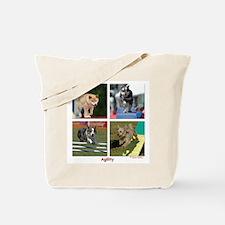 Small Dog Agility Tote Bag