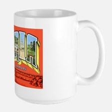Peoria Illinois Greetings Large Mug