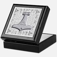 Thor's Hammer Keepsake Box