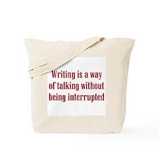 Writer / Author Tote Bag